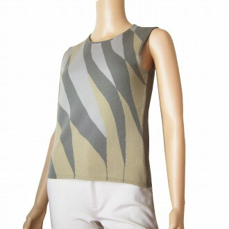 Lady's tops plumply in the cashmere 100% knit / size small size (7 equivalency) gray system spring and summer that has best a small it in winter for say TSE