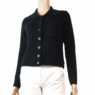 In the fall and winter Lady's for MARY QUANT Maryquant size S (7 equivalency) black black wool blend where a knit jacket is small roughly