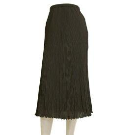 【中古】レリアン Leilian 大人なプリーツスカート 小さいサイズ 表記7号(S相当) 紫/パープル お出掛け 春夏向け ボトムス レディース