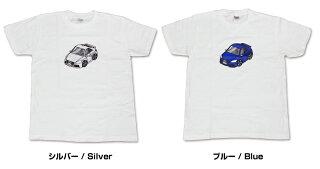 Tシャツシンプル車特集マツダロードスターNDTシャツ送料無料