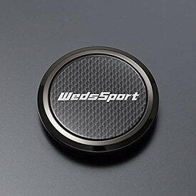 【送料無料】*【新品】*【WedsSport】*【ウェッズスポーツ】【フラットセンターキャップ】*【オプション品】【オーナメント】*【4枚SET】*【品番:52373】