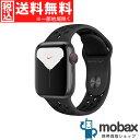 ◆5%還元対象◆【新品未開封品(未使用)】 Apple Watch Nike Series 5 GPS + Cellularモデル 40mm MX3D2J/A [スペースグレイアルミニウムケースとアン