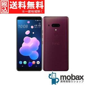 ◆ポイントUP◆《国内版SIMフリー》【新品未使用】HTC U12+ [フレームレッド]白ロム スマホ