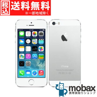docomo iPhone 5s 16GB [silver] ME333J/A ☆ white ROM Apple
