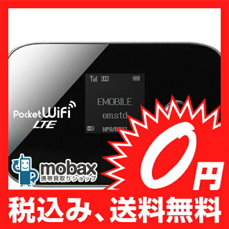 ◆사면 이득◆EMOBILE HUAWEI GL04P Pocket WiFi LTE 블랙☆흰색 롬☆