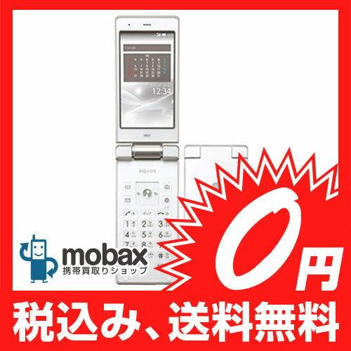 ◆ポイントUP◆※利用制限〇 【新品未使用】au AQUOS K SHF32 [クリアホワイト]☆白ロム