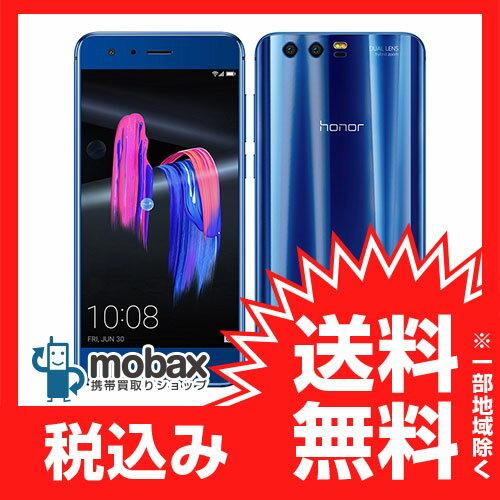 《国内版SIMフリー》【新品未使用】Huawei honor 9 (STF-L09) [サファイアブルー] 白ロム