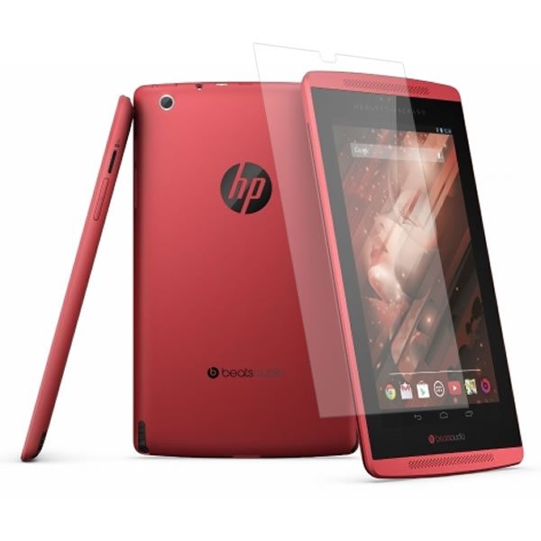 HP Slate 7 Beats Special Edition タブレット 用 [7] 【高硬度9H クリアタイプ】 液晶保護フィルム 傷に強い! ★