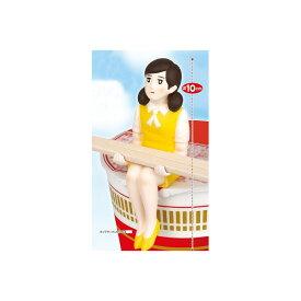 【送料無料】カップラーメンのフチに舞い降りた天使 カップラーメンのフチ子 フレッシュ制服:黄コップのフチ子 OL人形システムサービス プライズ
