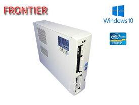 ハイスペックデスクトップPC FRONTIER/フロンティア FRGSXIHDA5/D  Win10/Core i7-2600K/メモリ4GB/新品SSD126GB/BD-RE