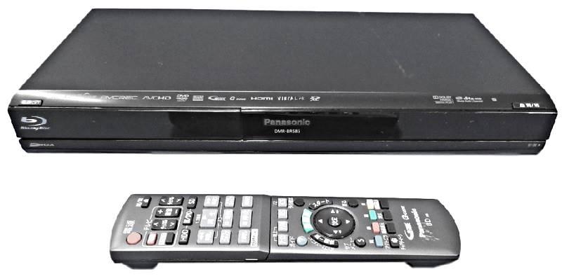 ブルーレイレコーダー Panasonic DIGA DMR-BR585 2011年製