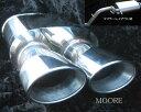 MF21S/MRワゴン・MG21Sモコオーバル片側2本出しマフラー