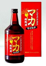 リキュール 【高栄養価 滋養薬味酒】マカを配合したお酒 マカ陶陶酒 マイルド12度720ml