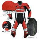 楽天スーパーSALE BERIK ベリック 2.0 カンガルーレーシングスーツ LS1-10719K-BK RED ツーリング応援セール