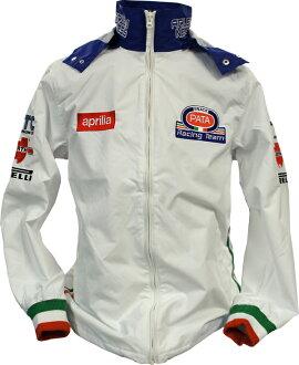 APRILIA PATA RACING TEAM JACKET embroidered logo on チームサマー kids jacket J-9483-BOS