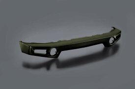 ジムニー ウレタン製バンパー フロント用 JB64 ジャングルグリーン (ZZC) 塗装済み