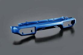 ジムニー ウレタン製バンパー リア用 JB64 ブリスクブルーメタリック (ZWY) 塗装済み