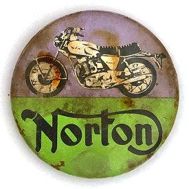 ノートン 缶バッジ Norton Badge