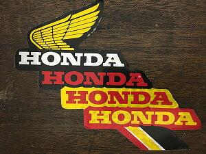 ホンダ ウィング/ロゴ ホログラム加工 ペーパーデカール 2枚セット HONDA HOT Paper Decal