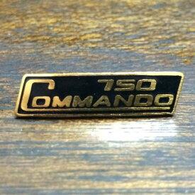 ノートン コマンドー 750 ピンバッジ Norton COMMANDO 750 Pin
