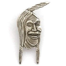 インディアン モーターサイクル ラフィング インディアン ピンバッジ Indian Motorcycle Laughing Indian Pin