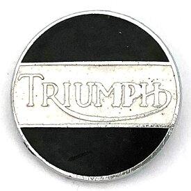 トライアンフ ビンテージ ロゴ ピンバッジ Triumph Vintage Logo Pin