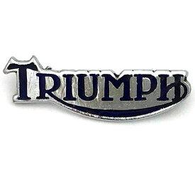 トライアンフ ロゴ ピンバッジ Triumph Logo Pin