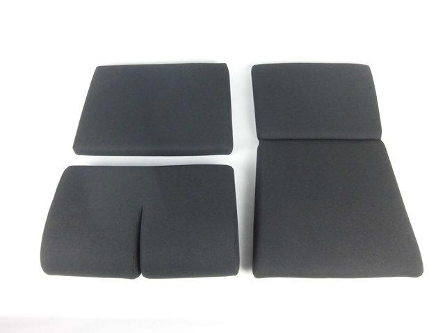 【送料無料】 フルバケットシート用 シートクッションセット(ブラック)