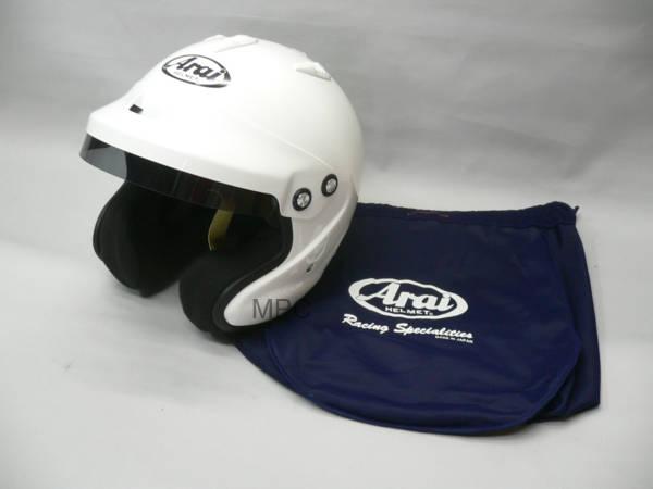 【送料無料】 アライ 4輪用 オープンフェイスヘルメット GP-J3 8859/ホワイト