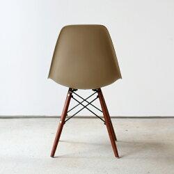 椅子ダイニングチェアイームズチェアシェルチェアリプロダクトブラウン脚