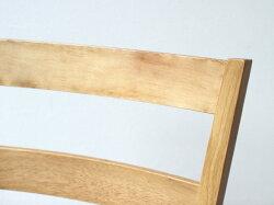 【2脚セット】木製ダイニングチェアMTS-061ナチュラルブラウン