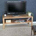テレビボード ローボード 木製 収納棚付き W1200 TVボード ナチュラル クリアランス MTS-070