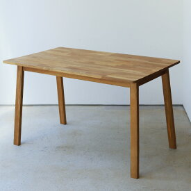 【10日限定ポイント+5倍!!】ダイニングテーブル W1200 オーク 木製 ダイニングテーブル 4名用 MTS-086