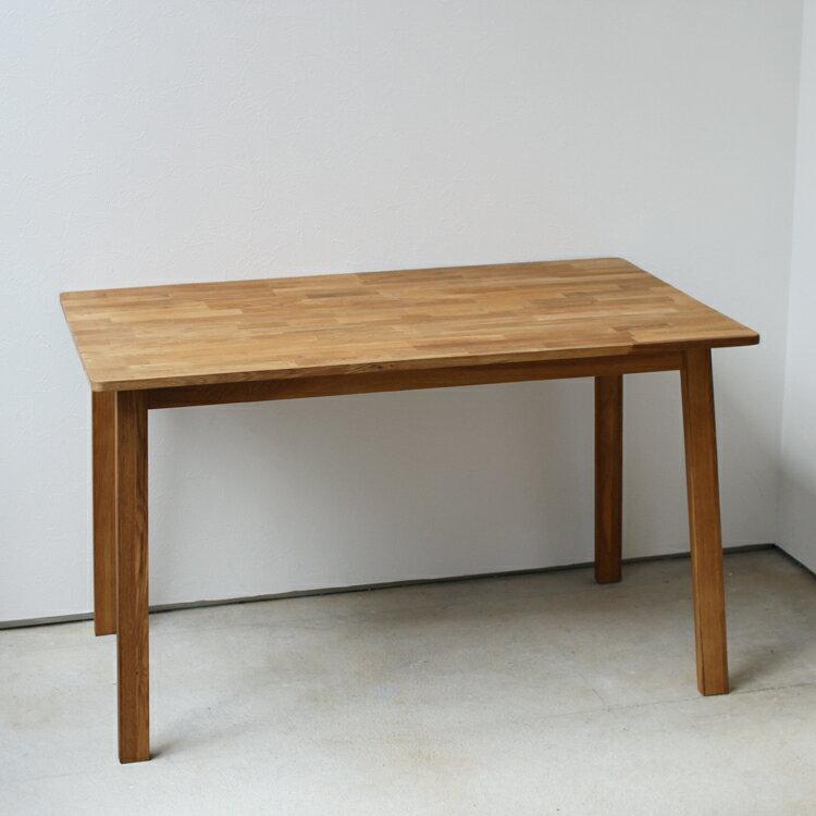 ダイニングテーブル W1200 オーク 木製 ダイニングテーブル 4名用 MTS-086