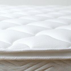 ポケットコイルマットレスプレミアムシングルピロートップマットレスMTS-073マット真空圧縮コンパクト梱包ベッド寝具