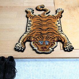 【エントリーでポイント最大+40倍!!3/4 20:00〜3/11 1:59】チベタンタイガーラグ DTTR-01/スモール Tibetan Tiger Rug DTTR-01 / Small 331601S DETAIL INC.