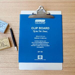 クリップアルミボード O/S A4 DP191 Penco ペンコ HIGHTIDE ハイタイド バインダー 耐水性 アルミ クリップボード