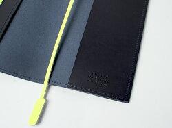 【10日限定!エントリーでPt+14倍】TIDEWAYBookCover文庫本用ブックカバーしおり付きタイドウェイ日本製レザーブラウンカーキネイビー