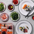 【キッチンでもキャンプでも】料理が一段とおしゃれに!シンプルなデザインのホーロー皿を教えて!