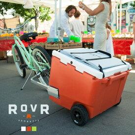 【25日限定ポイント+2倍】ROVR PRODUCTS RollR 60qt ローバー プロダクツ ローラー60/56.8L クーラーボックス 大型 大容量 保冷力 キャスター キャリーワゴン