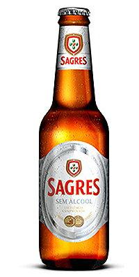 SAGRESSEMALKOHOLサグレスゼロ24本330mlアルコール度数0.3%ポルトガルノンアルコールビール
