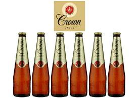 オーストラリアのプレミアムビール CARLTON CROWN RAGER / カールトンクラウンラガー6本セット 父の日 御祝 内祝 誕生日プレゼントに