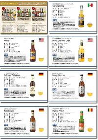 世界のビールとビールによく合うおつまみ10種類からお好きな6商品を自由に選べるカタログギフト