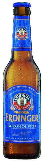 ERDINGERALKOHOLFREEエルディンガーアルコールフリー24本330mlアルコール度数0.4%ドイツノンアルコールビール