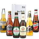 世界のビール飲み比べ6本セット 【贈り物に安心の全品正規輸入品】 バドバー コロナ ドレハー エルディンガー ミラー…