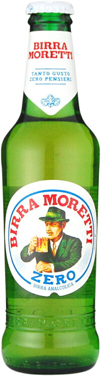 MorettiZeroモレッティゼロ24本330mlアルコール度数0.05%イタリアノンアルコールビール
