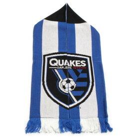 アディダス サンノゼ アースクエイクス マフラー San Jose Earthquakes サッカー MLS USA メジャーリーグ スカーフ 応援グッズ ドイツ製 新品