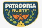パタゴニアステッカーオースティンテキサススペシャルコウモリPATAGONIAAUSTINTEXASご当地アメリカUSAフィッツロイシール