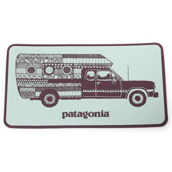 パタゴニア ウォーン ウェア トラック デリア キャンペーン ステッカー ミント PATAGONIA Worn Wear STICKER 非売品 車 シール デカール メール便 同梱可 即納