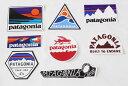 訳あり パタゴニア ステッカー 8種セット PATAGONIA STICKERS SET ショップ ボードショーツ ロゴ ローリングスルー シール ネコポス 新品